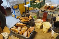 Altbrot aus einer Bäckerei wird als Tierfutter weiterverwendet