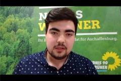 Niklas Wagener, Bundestagskandidat aus Aschaffenburg