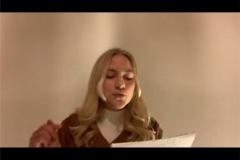 Poetry Slammerin Anne Stock aus Mainaschaff