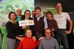Gruppenbild OV Kleinostheim mit Robert Habeck