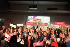 Gruppenfoto mit allen Kandidaten