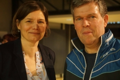 Manuela Rottmann (MdB) und Volker Goll (Sprecher Kreiverband)