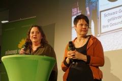 Rosi Ruf (Stadtverband) und Babara Hofmann (Kreissprecherin)
