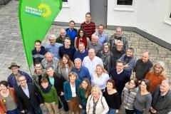 Kandidaten für die grüne Kreistagsliste