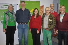 Dagmar, Christian, Gefion, Artur, Volker