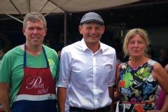 Volker Goll, Frank Meidhof und Christine Scheel