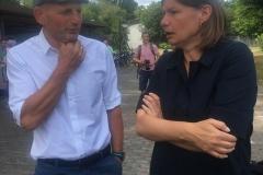 Maunuela Rottmann mit Frank Meidhof