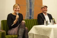 Katha Schulze mit Frank Meidhof