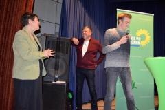 Babara, Volker mit Tim Höfler, Sprecher aus Alzenau