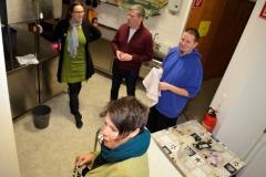 Die Küchen-Crew: hier packt jeder an!