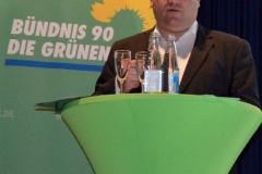 Vortrag von Tino über die Aktivitäten der Kleinostheimer Grünen
