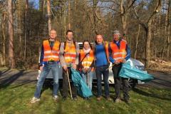 Aktion Saubere Landkreis: Grünes Team