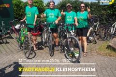 Sharepic-Stadtradeln-Team