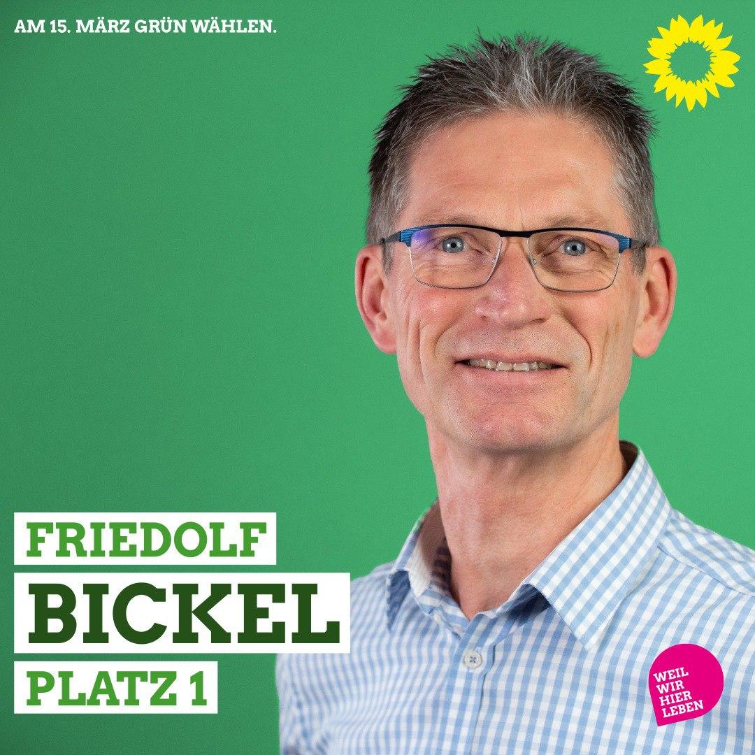 Friedolf Bickel, Platz 1