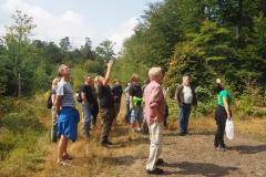 Waldexkursionsgruppe 03.08.2019