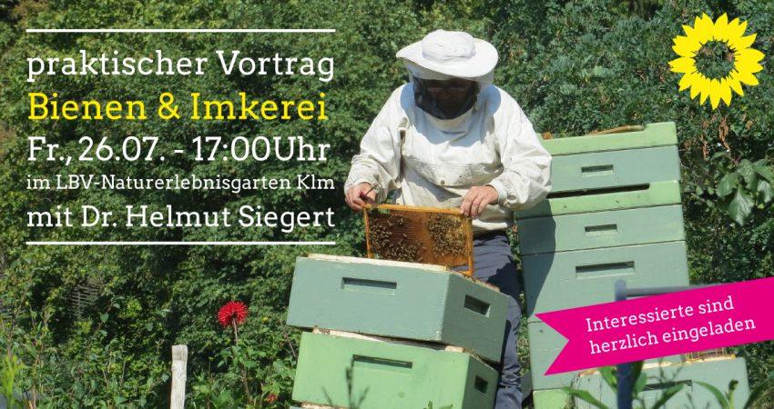 Vortrag Bienenhaltung mit Dr. Helmut Siegert