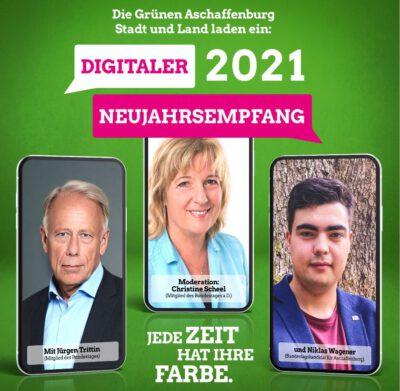 Gemeinsamer Neujahresempfang der Grünen Kreisverbände Aschaffenburg Stadt und Land